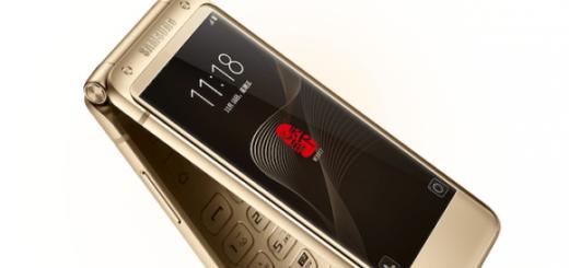 Флагманская раскладушка Samsung на ОС Android представлена в Китае