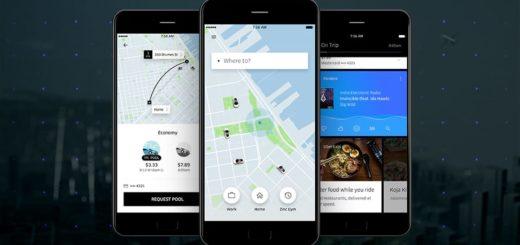 Uber переходит к простому дизайну для своего приложения на Android