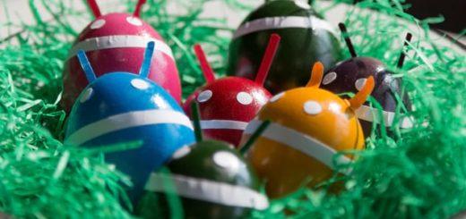 Пасхалки андроид: от Gingerbread до Nougat