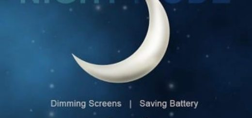 Как включить ночной режим Android устройства