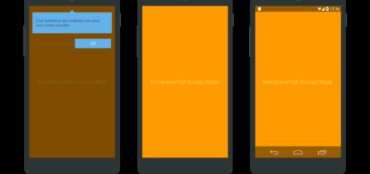 Как открыть любое приложение в полный экран Android (без root прав)