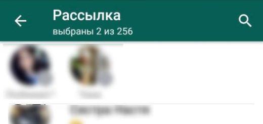 Как написать нескольким людям в WhatsApp без группового чата